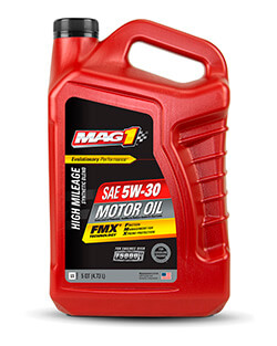 Моторное масло MAG 1® HIGH MILEAGE SYNTHETIC BLEND 5W‑30 MOTOR OIL (4.73л)
